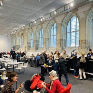 Restaurant éphémère - Couvent des Jacobins à Rennes