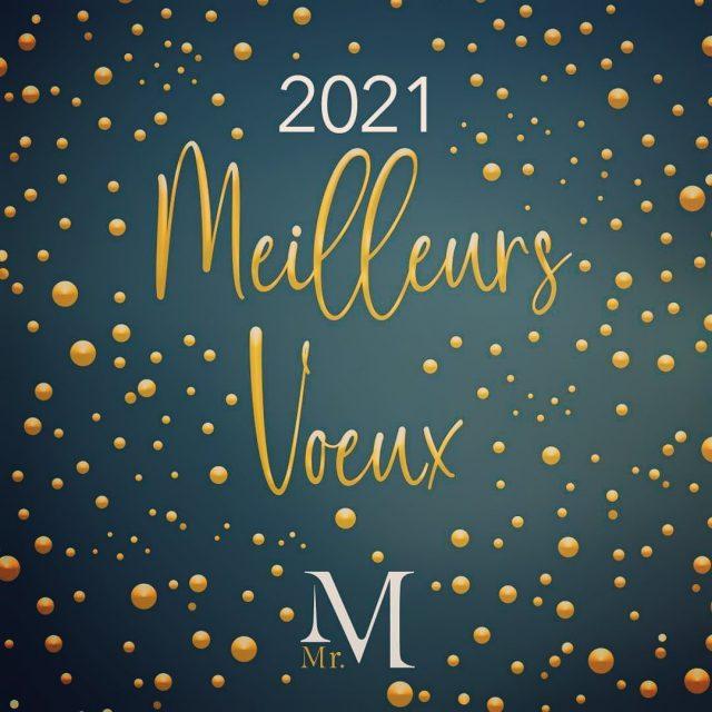 Monsieur M - Traiteur vous présente ses meilleurs vœux pour cette nouvelle année ! 🌟 #newyear2021 #meilleursvoeux #mrmtraiteur
