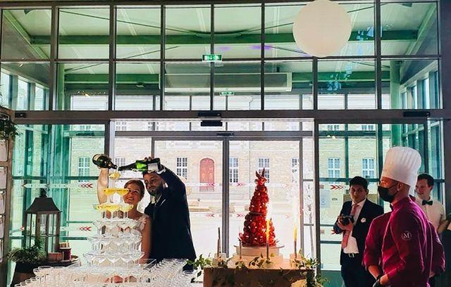 De magnifiques moments pour nos mariés, ce week-end à @ileauxmoines @chateaudesperes @chateaudebezyl